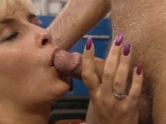 Facials Cumshot German