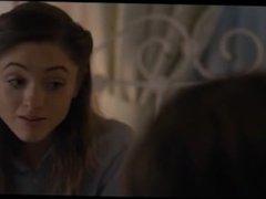 Kiss Scene Natalia Dyer in Stranger Things