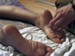 A 20 Year-Old Puerto Rican Virgin Footgirl Gets Secret-Cummed