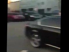 Club sluts fight in parking lot