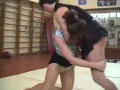 female v female wrestling and catfight 1