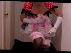 sissy excited to show off his diapers on webcam