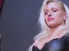 QUEEN OF PAIN - latex femdom music video caning slapping