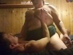 BBW cums 2 times