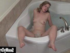 Adorable Carmen Masturbating In Jacuzzi