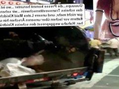 Latex Maid Luder Scheiss Transvestitenschweine verreckt im Müllpresswagen