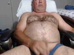 Dad Blows A Load
