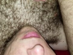 My own cum in my mouth