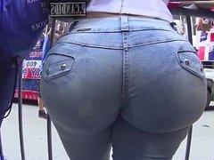 culona en jean
