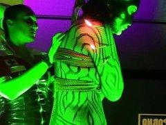 Shibari show in erotic festival