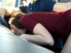 Erotic pur while driving HD