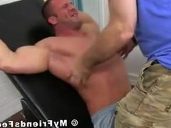 Bodybuilder Strapped to table and tickled.  Love seeing muscles Flex