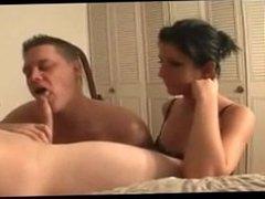 Princess Christina - Cuckold Slave Suck Cock and Eat Cum