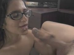 indian wife sucking husbands dick