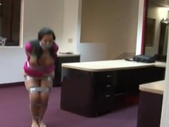 Gina Rae Michaels Bound and Gagged in Duct Tape