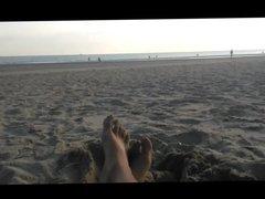 on the nude beach