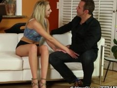 Horny Teen Wants BFFs Daddys Dick