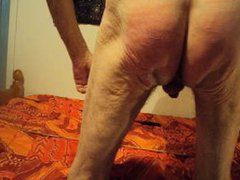 Cock ass and thigh beating 4