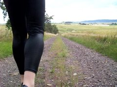 Leggins - Heels and Nylon Socks