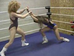 Sybil Starr dirty fighting wrestling