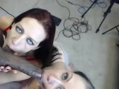 Interracial, blowjob #1