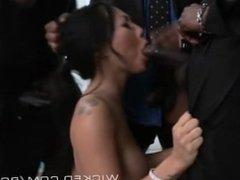 Asian Slut Ploughed Gangbang