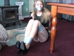 Laci duct taped
