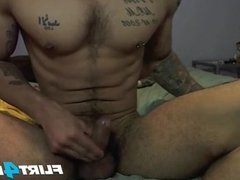 Get Down and Dirty With Samir Hott and His Nice Cock
