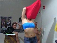3 Hot Chicks Striptease