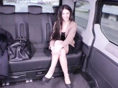 Fucked in Traffic - Naughty car sex with hot German babe Lullu Gun