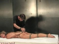 Society SM - Holly Wellin tied up, tortured and vibed