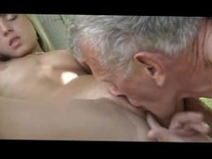 Young step daughter outdoor doggy riding old dad cum swallowing