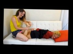 Foot Tickle Therapy Lauren Kiley's REVENGE!