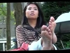 Asian Candid Soles