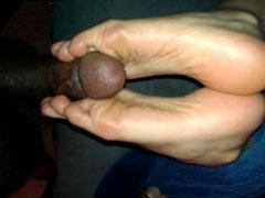 Latina GF BBC Interracial Solejob