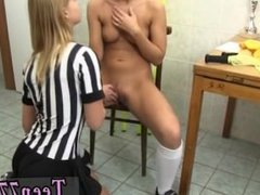 Tamara teen and 2 dirty blondes vs 1bbc Brazilian player nailing the