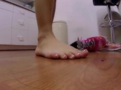 In her shoesgiantess