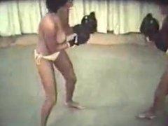 Retro Topless Boxing