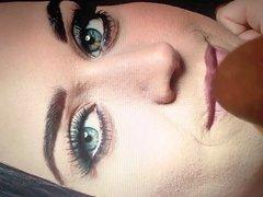 Katy Perry facial close-up cum tribute
