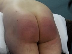 On Time for a Double Strapping - (Spanking)