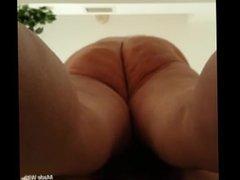 Creampie my BBW wife! Nice Ass!