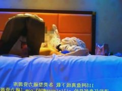 Chinese Hotel Prostitute in Lingerie