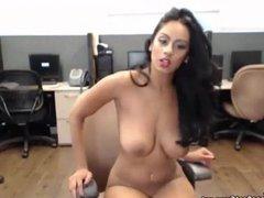 Indian Masturbates At Public Work Office On Webcam