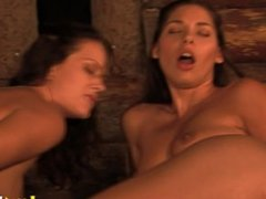 Caylian Curtis and Charlie have fun with another babe