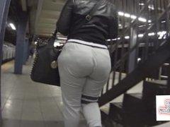 Big booty candid