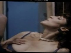 horny milf gets her hairy pussy fucked cum on tight pussy lingerie fuck