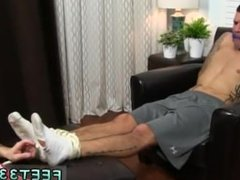 Leg cast male fetish gay Johnny Foot Fucks Caleb