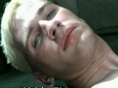 Blonde Twink Jerks Off At The Back Of His Car