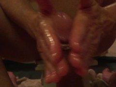 amateur couple first video she gives massage part 1