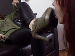 My favorite Lesbian Shoe-licking